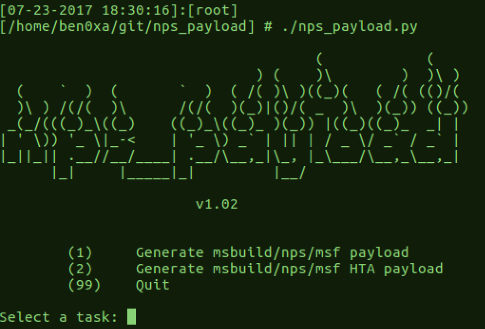 New Tool Release: NPS_Payload - TrustedSec