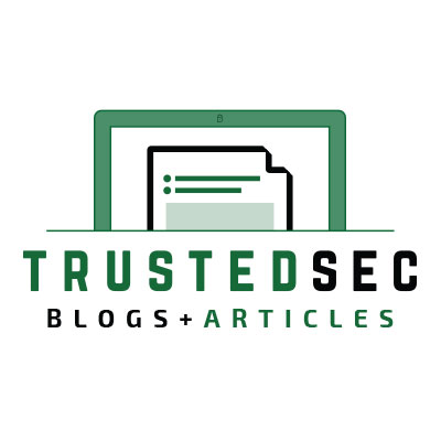 TrustedSec Blogs + Articles logo