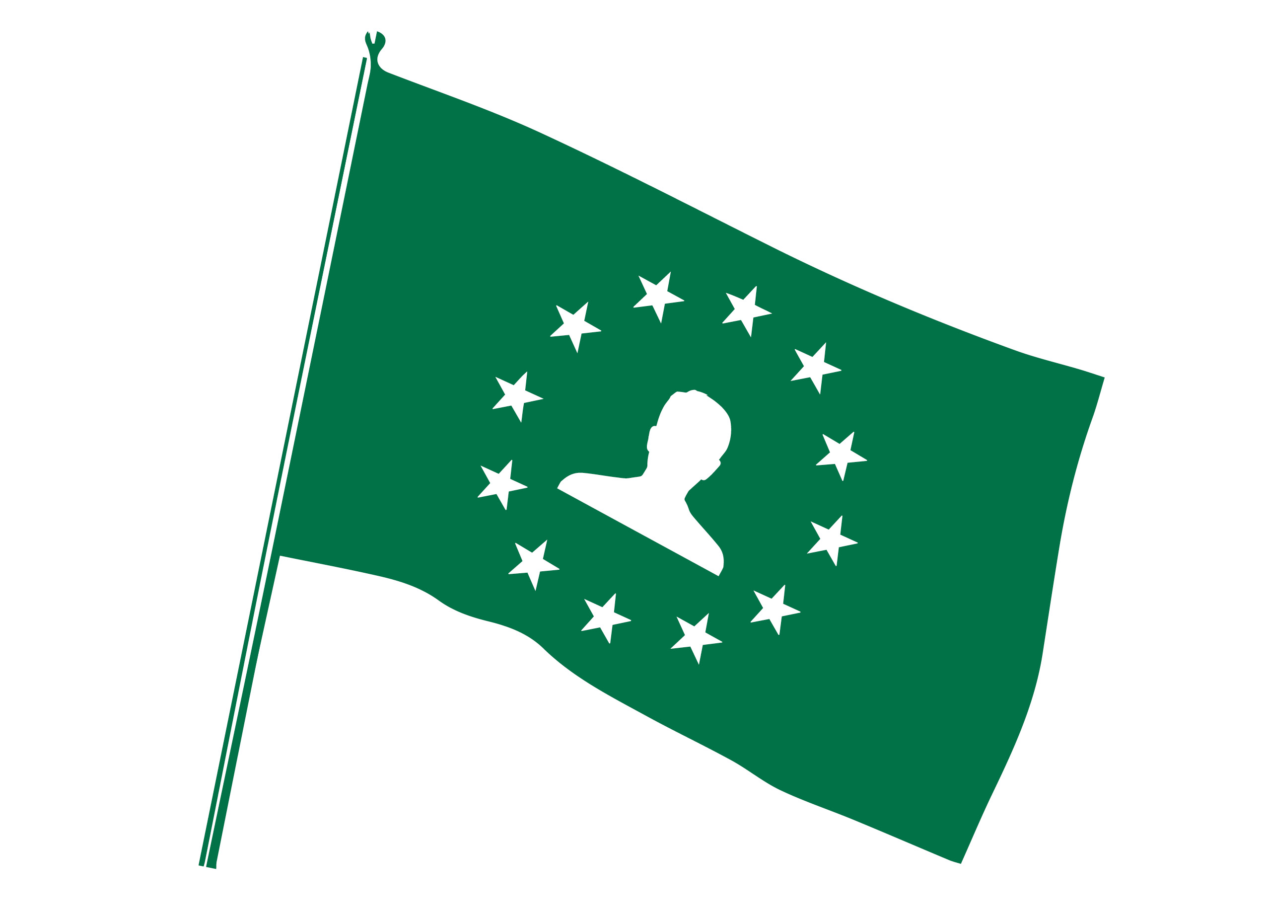 EU and GDPR flag icon