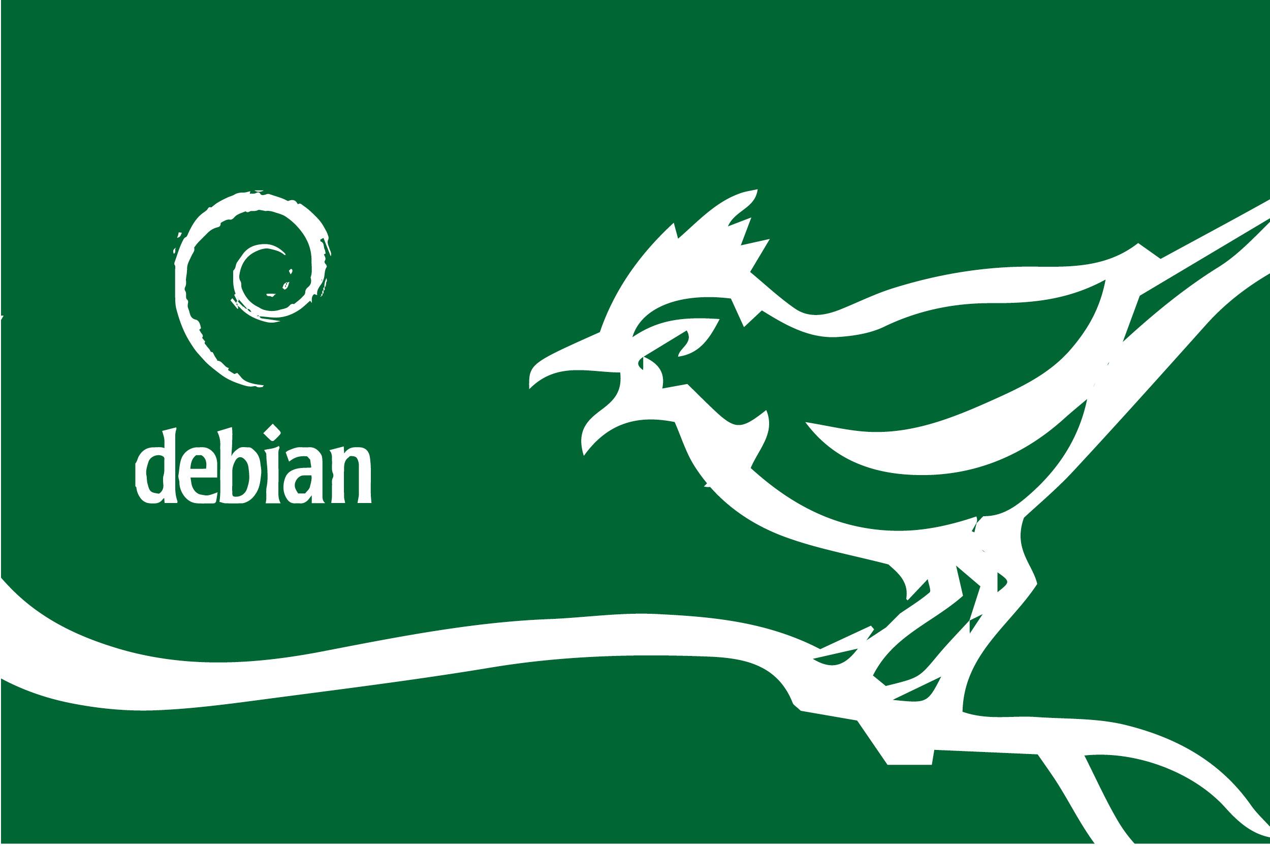 Debian logo graphic