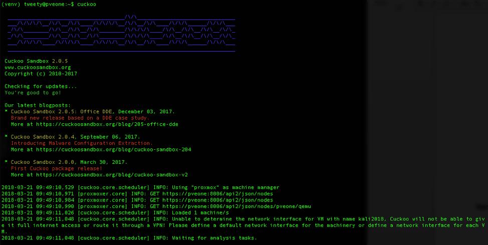 Malware Analysis is for the (Cuckoo) Birds - Cuckoo