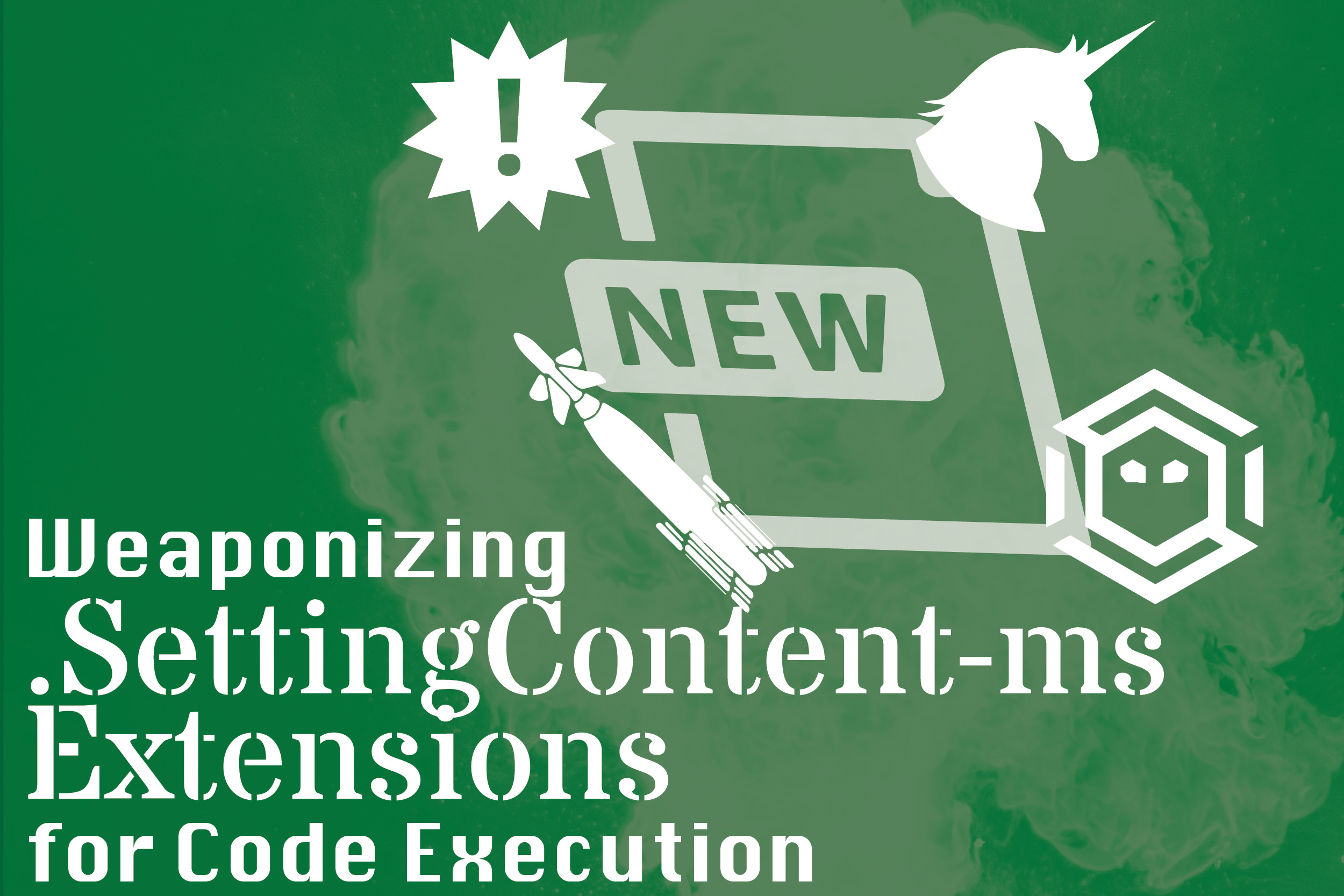 Weaponizing  SettingContent-ms Extensions for Code Execution