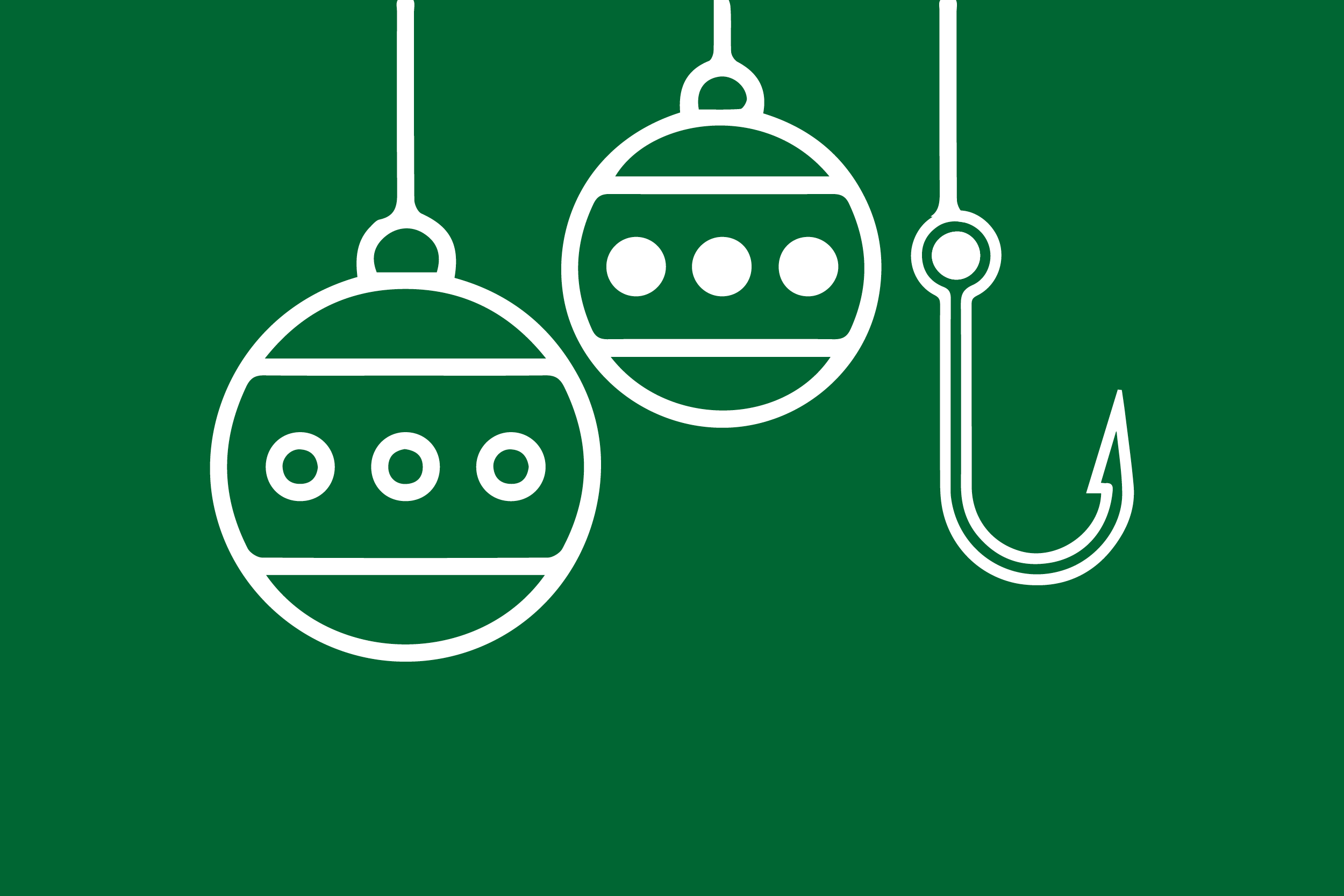 holiday phishing graphic