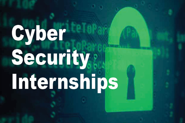 cyber security internships graphic