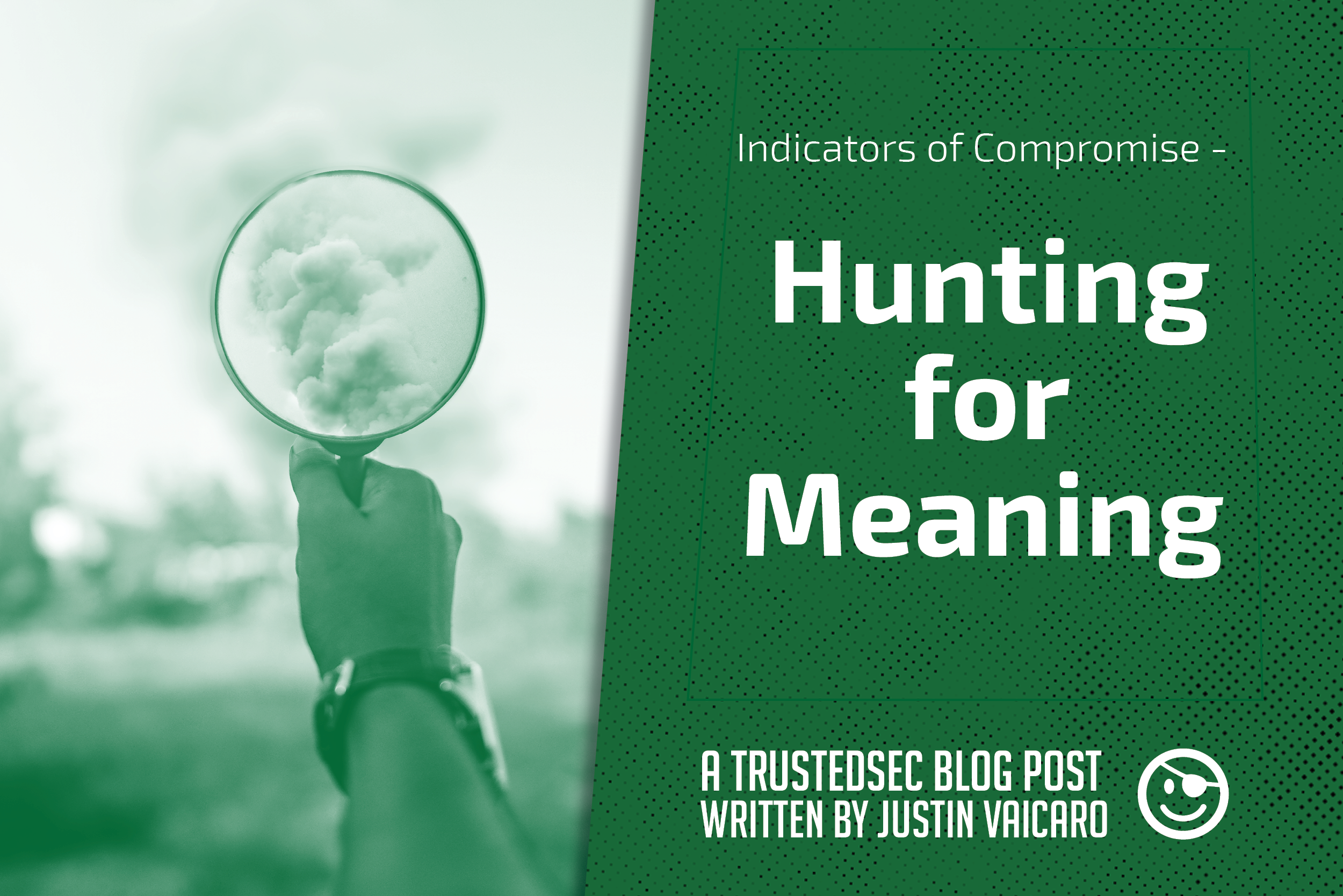 hunting for meaning blog post graphic