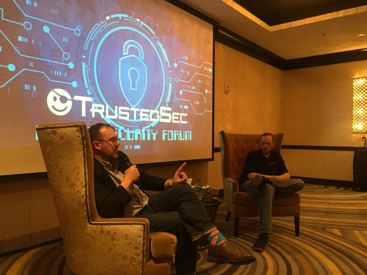 TrustedSec Security Forum speaking engagement